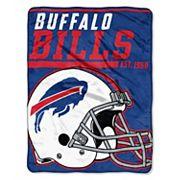 Buffalo Bills Micro Raschel Throw Blanket