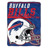 Buffalo Bills Micro Raschel Throw Blanket