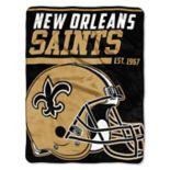 New Orleans Saints Micro Raschel Throw Blanket