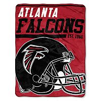 Atlanta Falcons Micro Raschel Throw Blanket