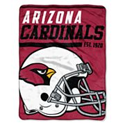 Arizona Cardinals Micro Raschel Throw Blanket