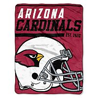 Arizona Cardinals Micro Raschel Throw Blanket