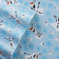 Disney's Frozen Olaf Flannel Sheet Set by Jumping Beans®