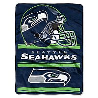 Seattle Seahawks Super Plush Reversible Throw Blanket