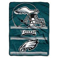 Philadelphia Eagles Super Plush Reversible Throw Blanket