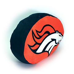 Denver Broncos Logo Pillow