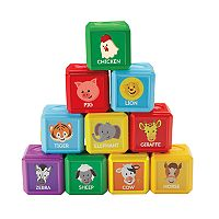 Fisher-Price Laugh & Learn First Words Animal Blocks
