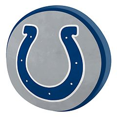 Indianapolis Colts Logo Pillow