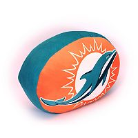 Miami Dolphins Logo Pillow