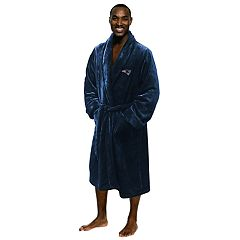 Men's New England Patriots Silk-Touch Robe