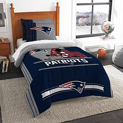 New England Patriots Twin/Full Comforter Set