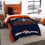 Denver Broncos Twin/Full Comforter Set