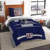 New York Giants Twin/Full Comforter Set