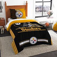 Pittsburgh Steelers Twin/Full Comforter Set