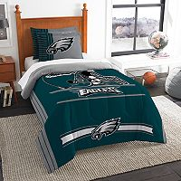Philadelphia Eagles Twin/Full Comforter Set