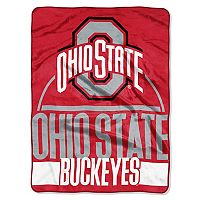 Ohio State Buckeyes Silk-Touch Throw Blanket