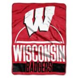 Wisconsin Badgers Silk-Touch Throw Blanket