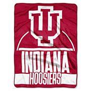 Indiana Hoosiers Silk-Touch Throw Blanket