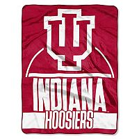 Indiana Hoosiers Silk-Touch Throw Blanket