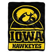 Iowa Hawkeyes Silk-Touch Throw Blanket