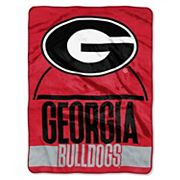 Georgia Bulldogs Silk-Touch Throw Blanket