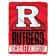 Rutgers Scarlet Knights Silk-Touch Throw Blanket