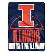 Illinois Fighting Illini Silk-Touch Throw Blanket