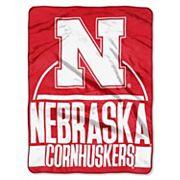 Nebraska Cornhuskers Silk-Touch Throw Blanket