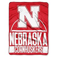 Nebraska Cornhuskers Silk-Touch Throw Blanket