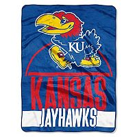 Kansas Jayhawks Silk-Touch Throw Blanket