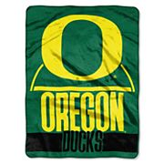 Oregon Ducks Silk-Touch Throw Blanket