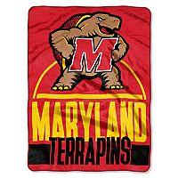 Maryland Terrapins Silk-Touch Throw Blanket