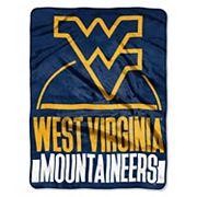 West Virginia Mountaineers Silk-Touch Throw Blanket