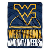 West Virginia Mountaineers Silk-Touch Throw Blanket