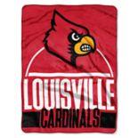 Louisville Cardinals Silk-Touch Throw Blanket