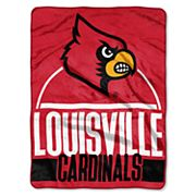 Louisville Cardinals Silk-Touch Throw Blanket