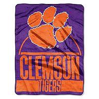 Clemson Tigers Silk-Touch Throw Blanket