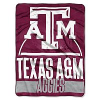 Texas A&M Aggies Silk-Touch Throw Blanket