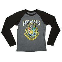 Boys 8-20 Hogwarts Raglan Tee