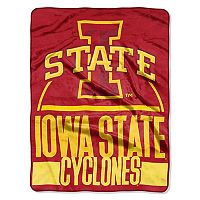 Iowa State Cyclones Silk-Touch Throw Blanket