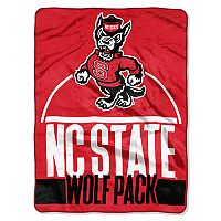 North Carolina State Wolfpack Silk-Touch Throw Blanket