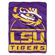 LSU Tigers Silk-Touch Throw Blanket