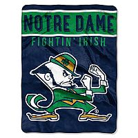 Notre Dame Fighting Irish Silk-Touch Throw Blanket