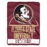 Florida State Seminoles Silk-Touch Throw Blanket