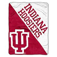 Indiana Hoosiers Micro Raschel Throw Blanket