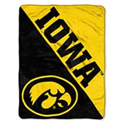 Iowa Hawkeyes Micro Raschel Throw Blanket