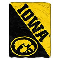 Iowa Hawkeyes Micro Raschel Throw Blanket
