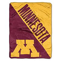Minnesota Golden Gophers Micro Raschel Throw Blanket