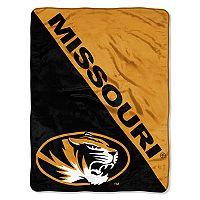 Missouri Tigers Micro Raschel Throw Blanket