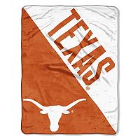Texas Longhorns Micro Raschel Throw Blanket